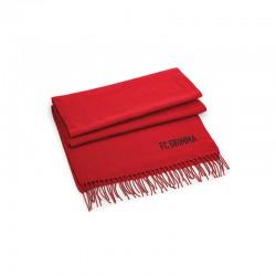 Fanschal Rot incl. Vereinsname